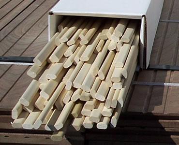 Log Power Hardwood Flooring Moulding Amp Slip Tongue
